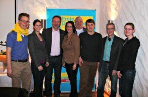 Der neue FDP-Kreisvorstand im Landkreis Harburg