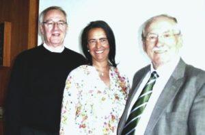 Von links: Dieter Palm, Nicole Bracht, Reiner Jordan